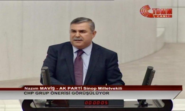 Photo of Nazım Maviş TBMM Konuşması