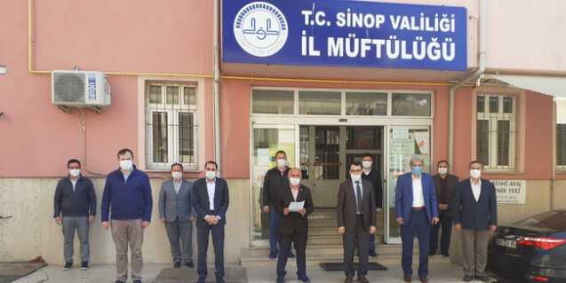 Photo of Diyanet-Sen Sinop Şubesinden Diyanet'e destek