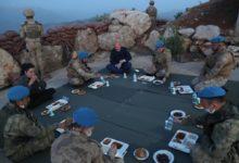 Photo of Bakan SOYLU Namaz Dağı'nda Askerlerle İftar Açtı